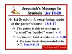 jeremiah s message in symbols jer 18 20