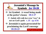 jeremiah s message in symbols jer 18 2030
