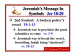 jeremiah s message in symbols jer 18 2031