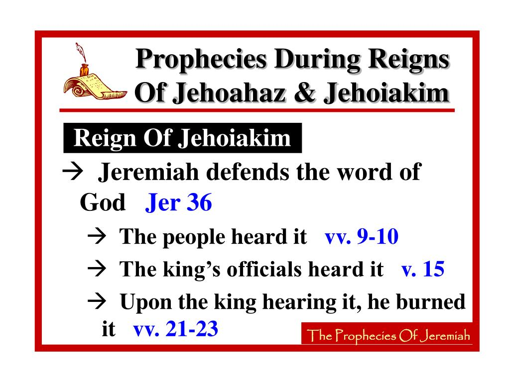 Reign Of Jehoiakim