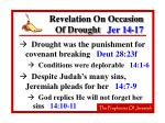 revelation on occasion of drought jer 14 17