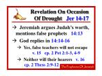 revelation on occasion of drought jer 14 1725
