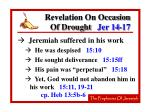 revelation on occasion of drought jer 14 1726