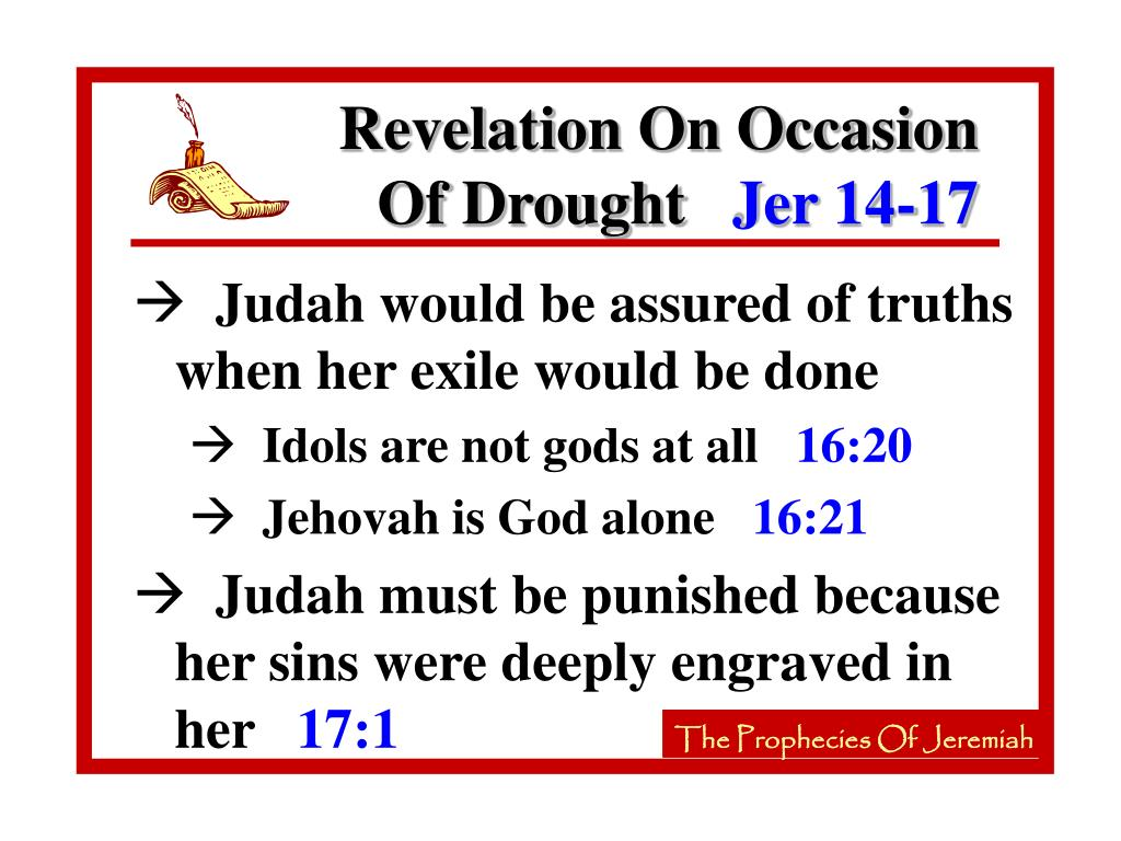 Revelation On Occasion Of Drought