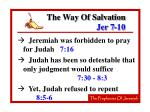 the way of salvation jer 7 1017