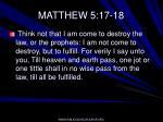 matthew 5 17 18