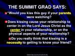 the summit grad says