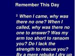 remember this day18