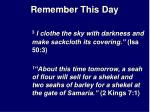 remember this day19