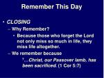 remember this day24