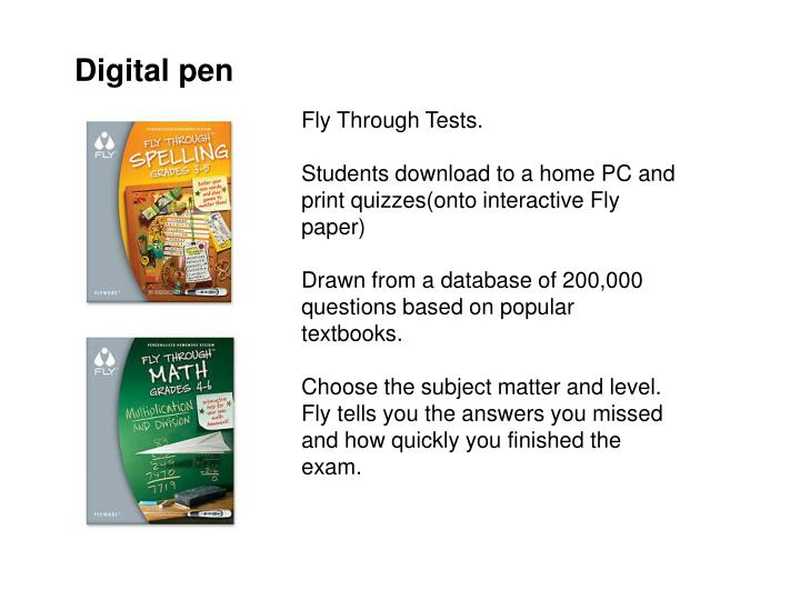 Digital pen