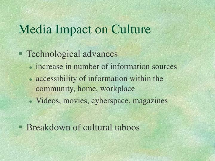Media Impact on Culture
