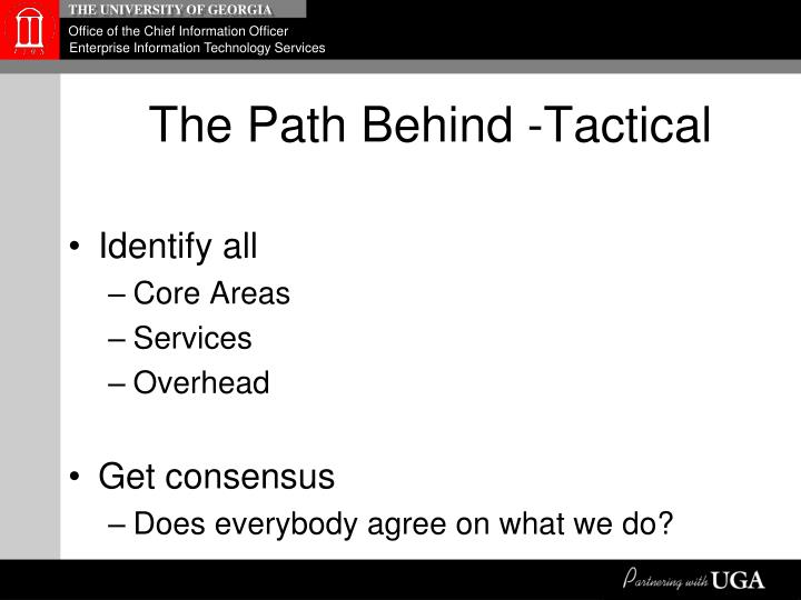 The Path Behind -Tactical