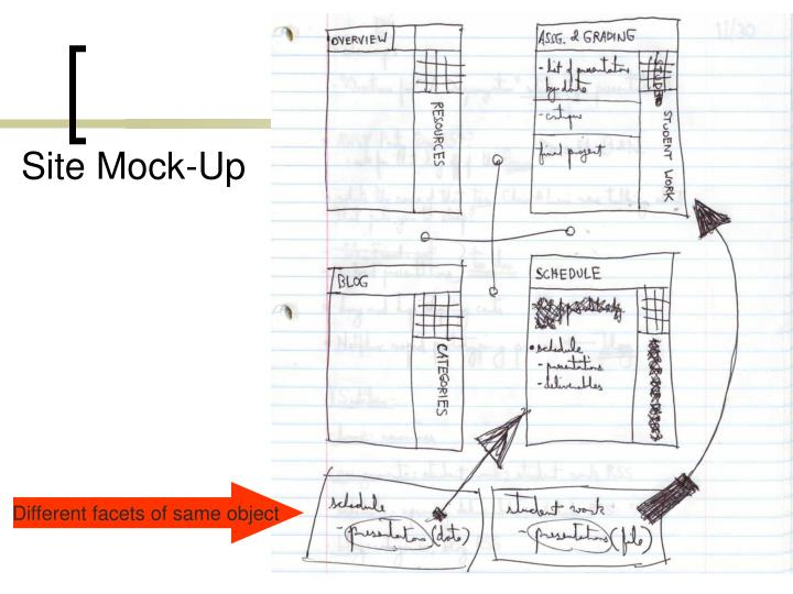 Site Mock-Up