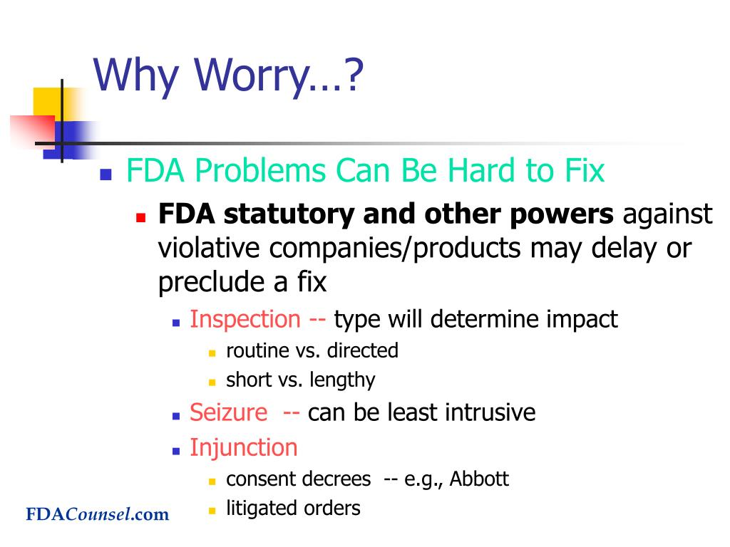 Why Worry…?