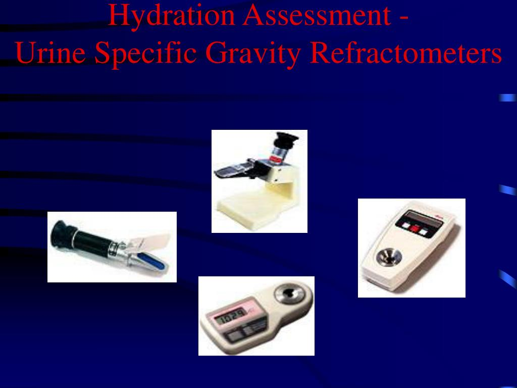 Hydration Assessment -