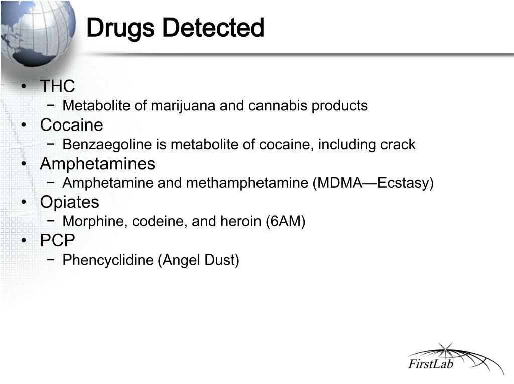Drugs Detected