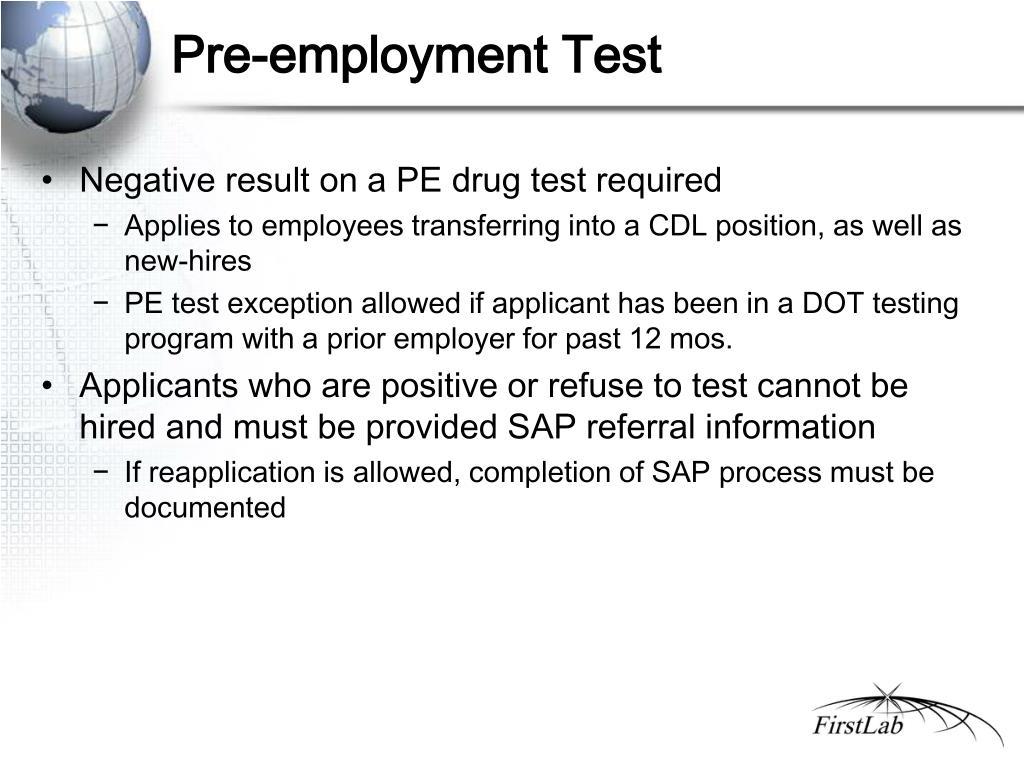 pre employment assessment
