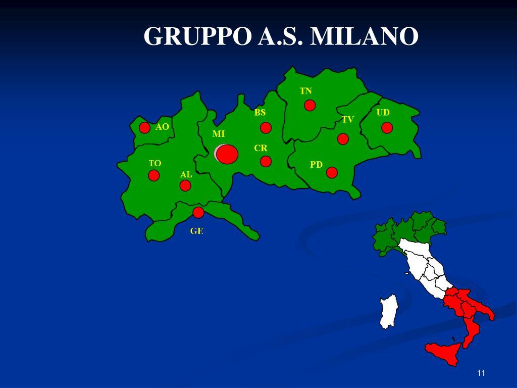 GRUPPO A.S. MILANO