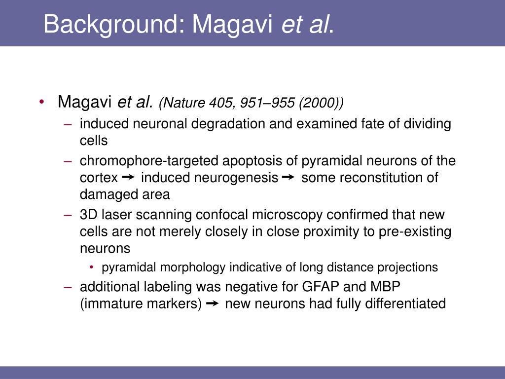 Background: Magavi
