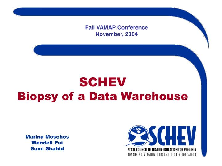 Fall VAMAP Conference