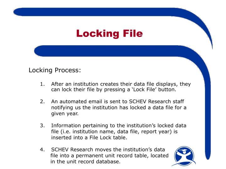 Locking File