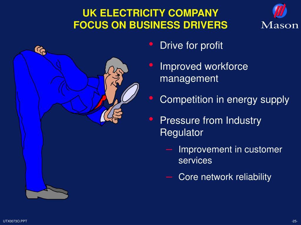 UK ELECTRICITY COMPANY