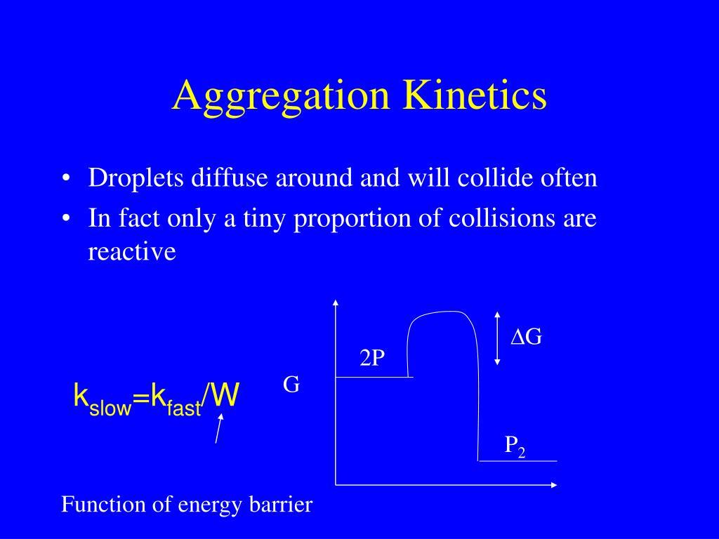 Aggregation Kinetics