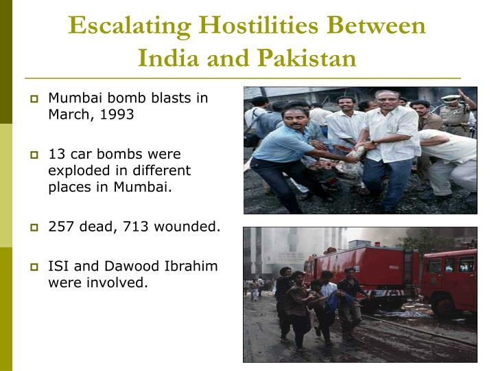Escalating hostilities between india and pakistan l.jpg