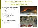 escalating hostilities between india and pakistan9