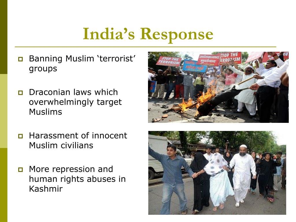 India's Response