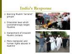 india s response12