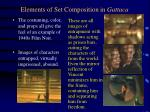 elements of set composition in gattaca