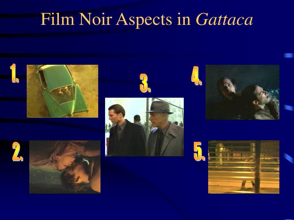 Film Noir Aspects in
