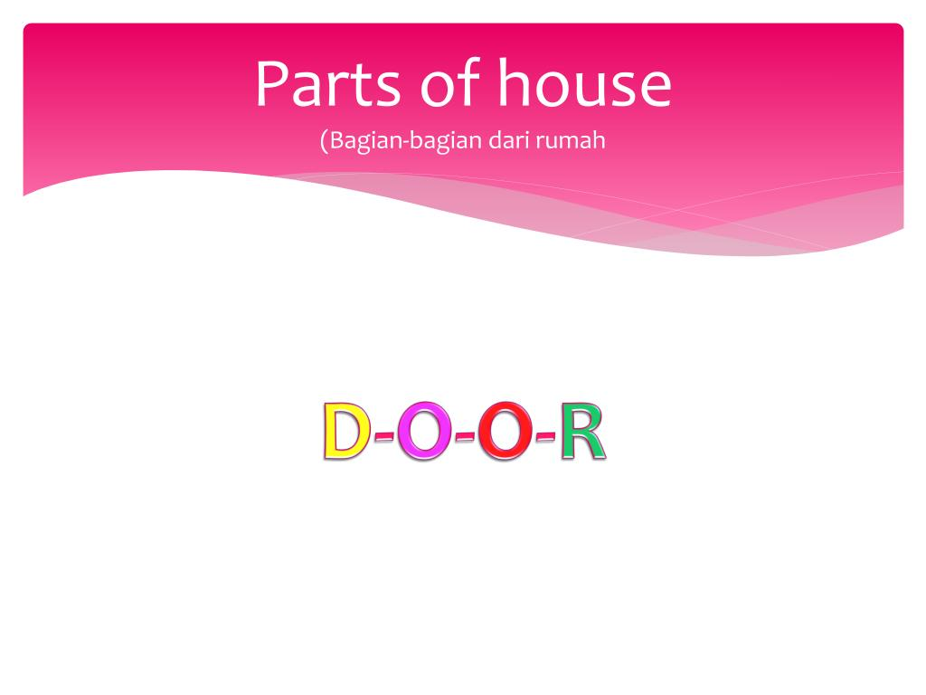 Parts of house
