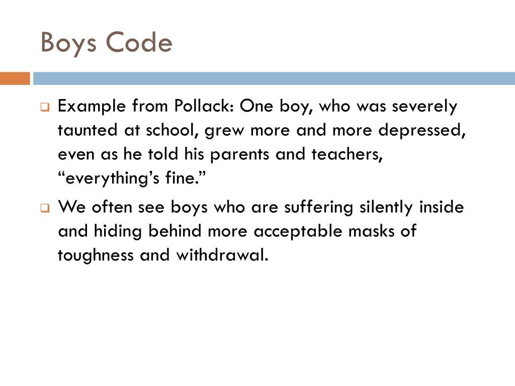 Boys Code