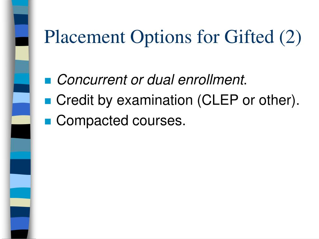 Placement Options for Gifted (2)