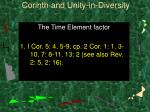 corinth and unity in diversity40