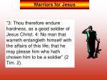 warriors for jesus2