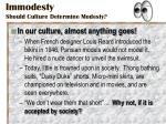 immodesty should culture determine modesty4
