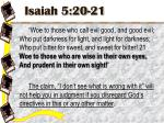 isaiah 5 20 21