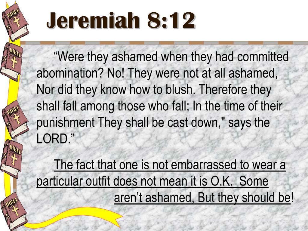 Jeremiah 8:12