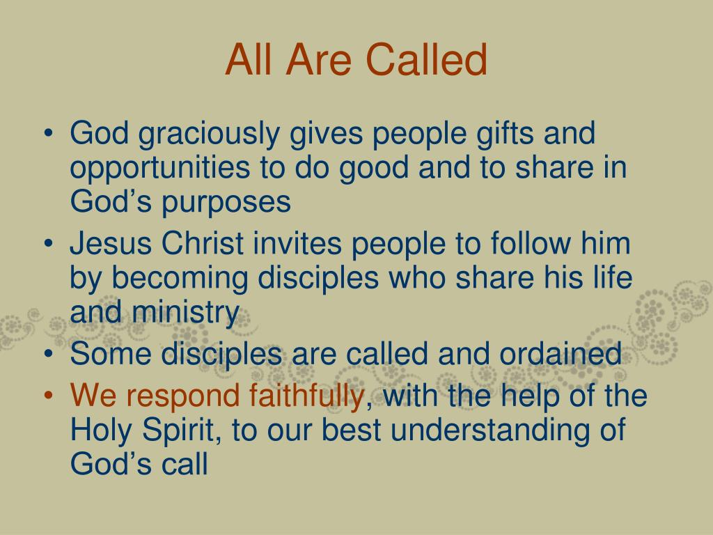 All Are Called