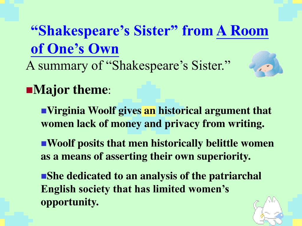"""Shakespeare's Sister"" from"