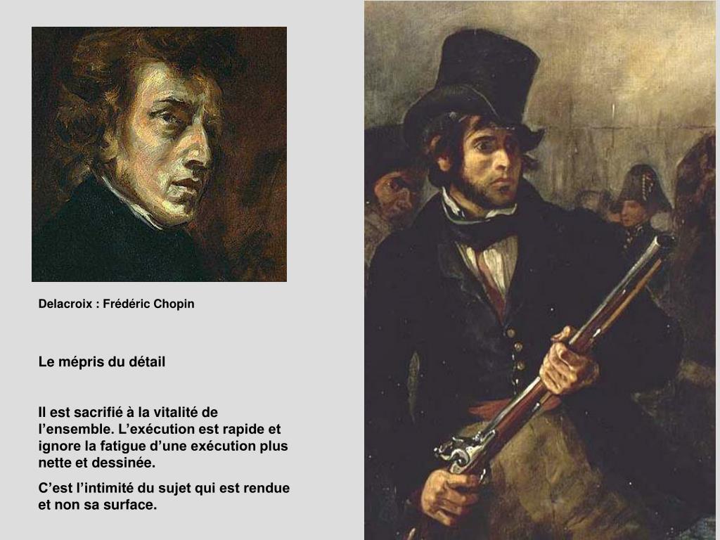 Delacroix : Frédéric Chopin