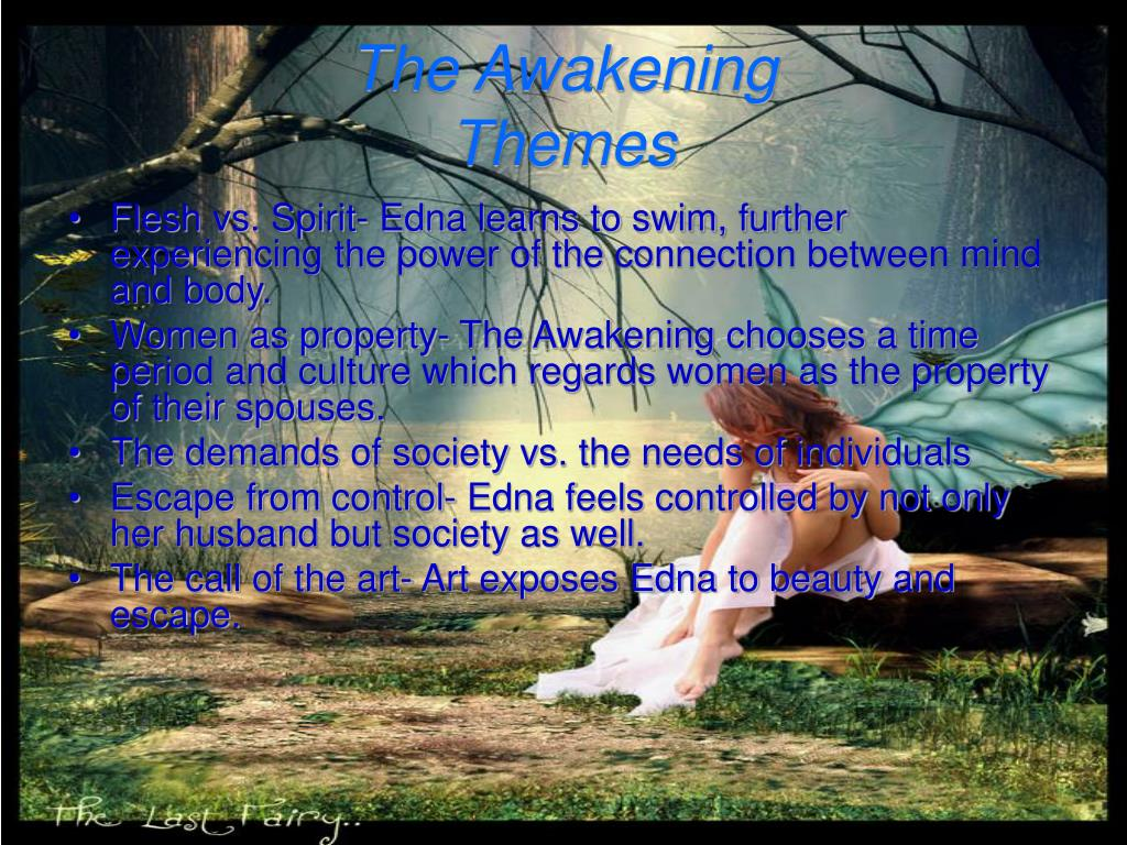 an analysis of the themes of responsibility and duty in the awakening by kate chopin An analysis of the awakening by kate chopin, an 1899 novella telling the story  of a young mother who  this question constitutes a major theme of the novel   she does not question her position, nor complain of her duties.