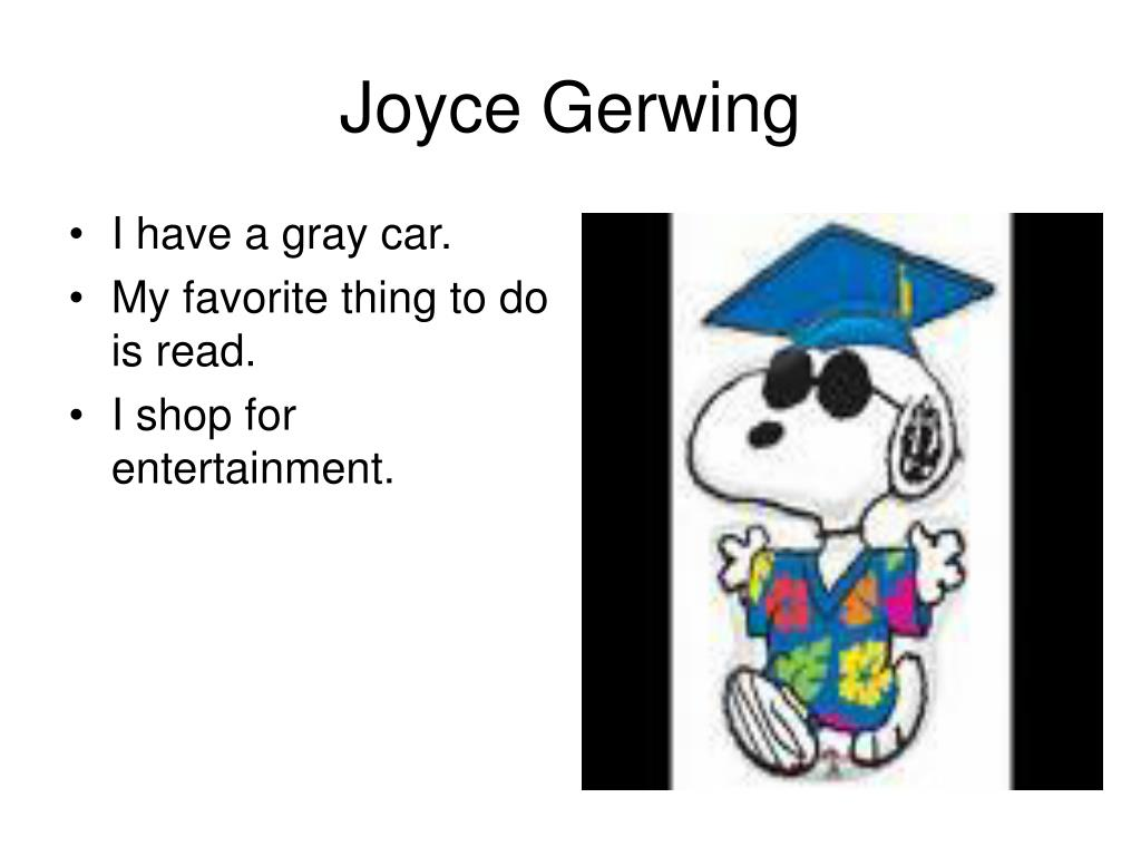 Joyce Gerwing