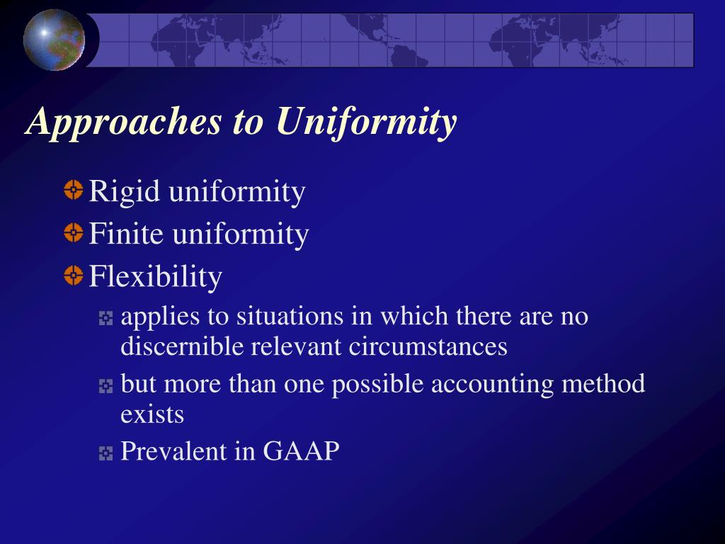 Approaches to Uniformity