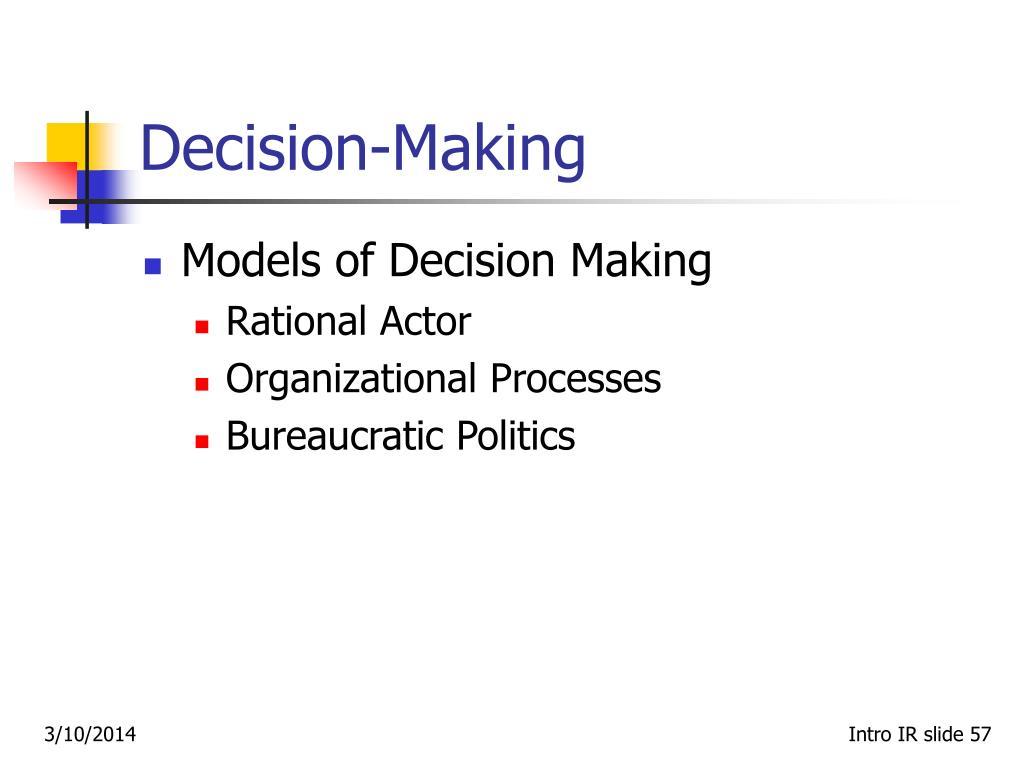 Decision‑Making