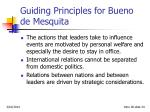 guiding principles for bueno de mesquita